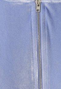 Topshop - DIAMANTE HOODY - Zip-up hoodie - lilac - 2