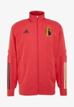 BELGIUM RBFA PRESENTATION JACKET - Squadra nazionale - red
