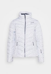 Ziener - TALMA LADY JACKET - Skijakke - light grey/white - 4