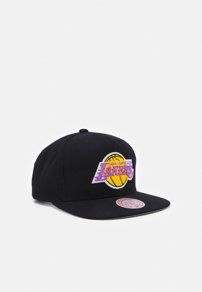 Mitchell & Ness - NBA LOS ANGELES LAKERS SOLID SNAPBACK - Cap - black