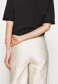 DESIGNERS REMIX - HAILEY FLARE - Trousers - cream - 3