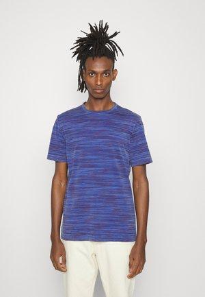 SHORT SLEEVE - Print T-shirt - tinto capo bluette
