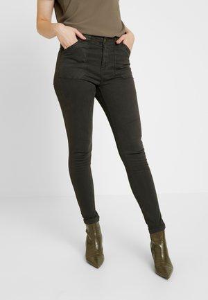 VMSULA - Trousers - peat
