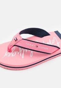 Tommy Hilfiger - T-bar sandals - pink - 5