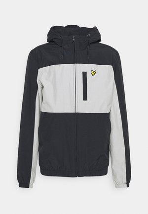 COLOUR BLOCK ZIP THROUGH JACKET - Tunn jacka - dark navy