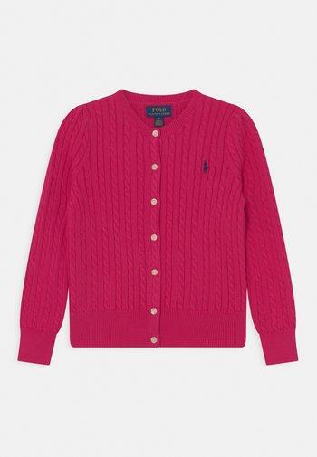 MINI CABLE - Cardigan - sport pink