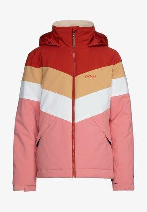 Snowboard jacket - think pink