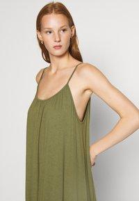 Zign - Jersey dress - olive night - 3
