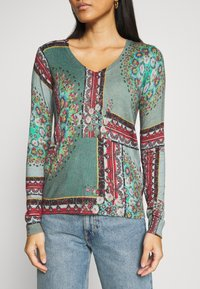 Desigual - JERS DUNDEE - Jumper - dusty olive - 4
