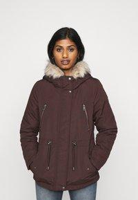 Vero Moda Petite - VMAGNESBEA - Light jacket - chocolate plum - 0