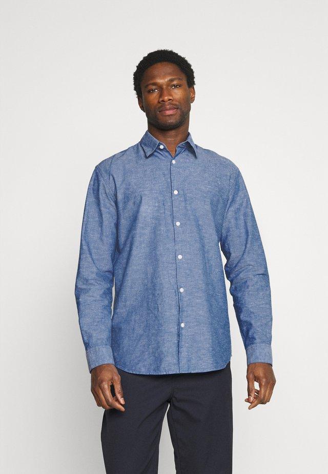 SLHREGNEW SHIRT - Camicia - medium blue denim