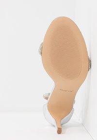 ALDO - AROCLYA - Sandaler med høye hæler - silver - 6