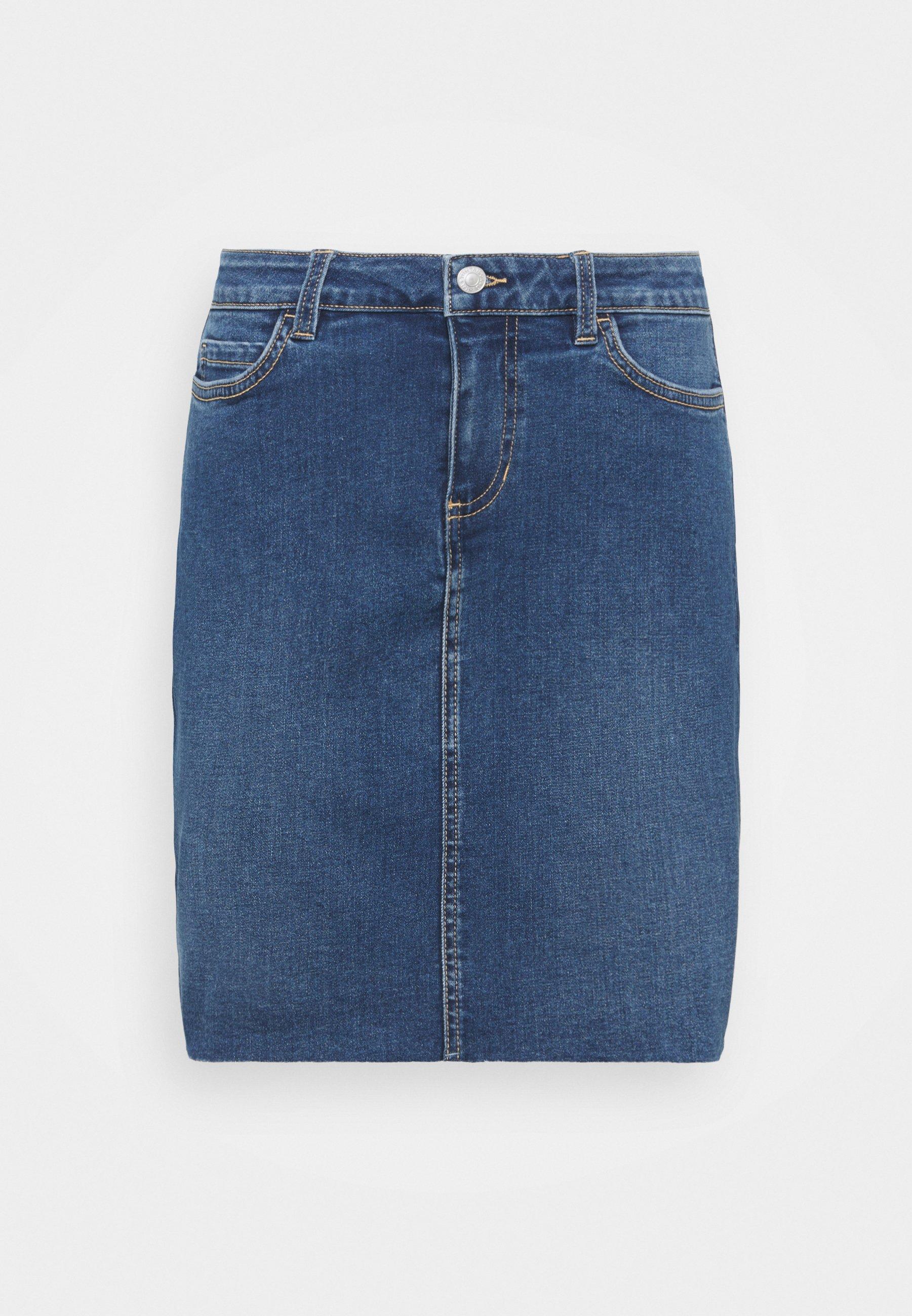 Women MINI SKIRT - Denim skirt
