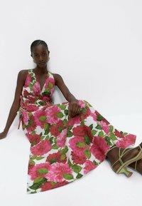 Uterqüe - Day dress - pink - 5