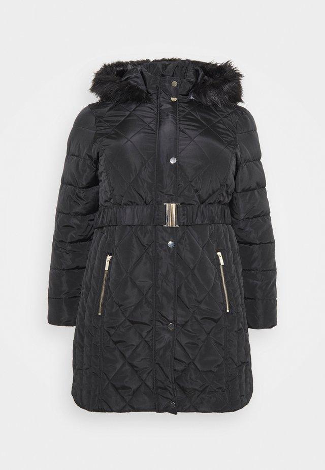 DIAMOND LONG LUXE - Winter coat - black