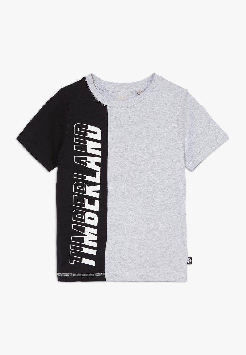 Timberland - Print T-shirt - grey/black