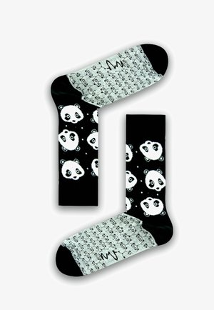Socks - black / white