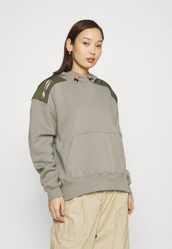 HOODIE - Sweatshirt - light army/cargo khaki