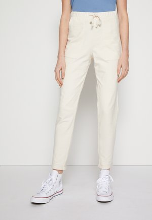 Tracksuit bottoms - soft creme beige