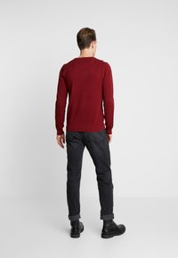 GANT - C NECK - Stickad tröja - crimson red - 2