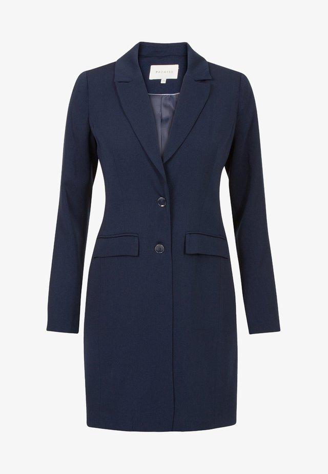 APPAREL BODIL - Short coat - night blue