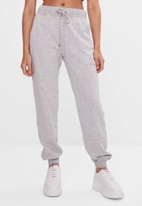 Bershka - Verryttelyhousut - light grey - 0