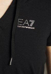 EA7 Emporio Armani - DRESS - Jerseykjole - black - 6