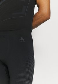 ODLO - PERFORMANCE WARM ECO BOTTOM LONG - Base layer - black/new odlo graphite grey - 4