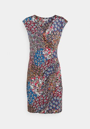 Jersey dress - multicoloured