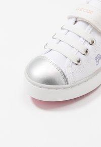 Geox - CIAK GIRL - Trainers - white/pink - 2
