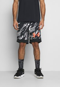 Under Armour - RETRO  - Sports shorts - black - 0
