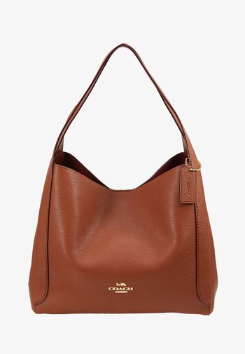 POLISHED HADLEY - Handbag - saddle
