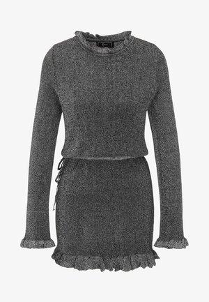 Pletené šaty - silver