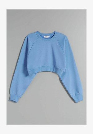 MIT ÄRMELN  - Sweatshirt - blue