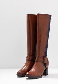 Caprice - Vysoká obuv - cognac - 4