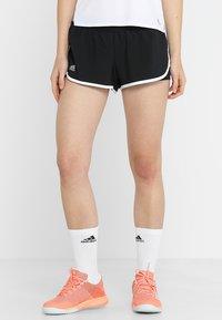 adidas Performance - CLUB SHORT - Sports shorts - black - 0