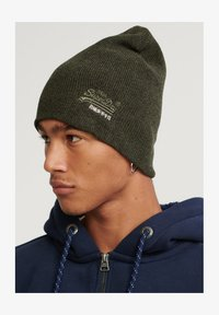 Superdry - ORANGE LABEL  - Beanie - nordic khaki/black grit - 1