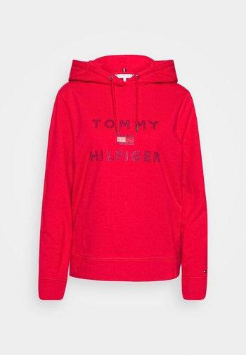 TIARA HOODIE  - Hoodie - primary red