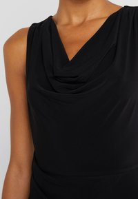 DKNY - SHEATH WITH RUCHING - Shift dress - black - 5
