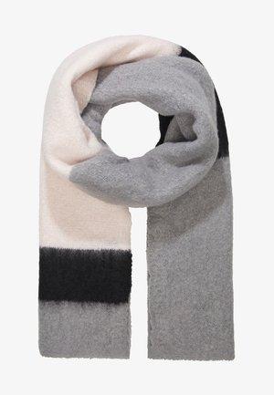 ONLLIMA BLOCK SCARF  - Sjaal - light grey melange/black