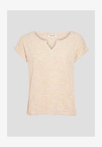 BONOBO Jeans - Print T-shirt - jaune - 4