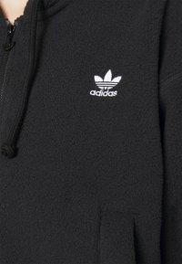 adidas Originals - Fleece jacket - black - 5
