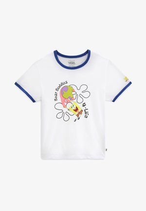 GR VANS X SPONGEBOB BEST BUDDIES RINGER - T-shirt imprimé - spongebob bstbddies4life