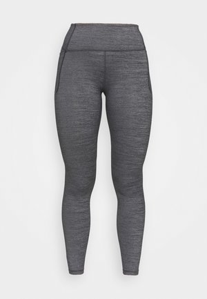 MERIDIAN HEATHER LEGGING - Leggings - black