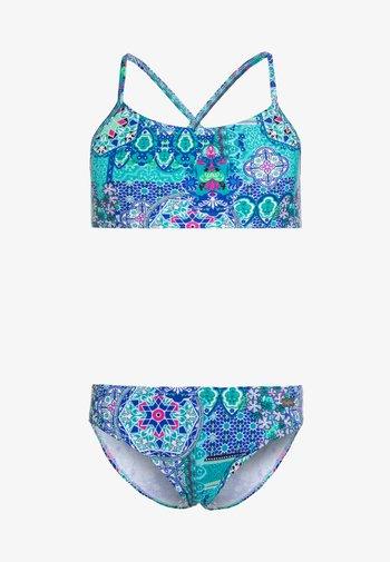 BUSTIER - Bikiny - turquoise