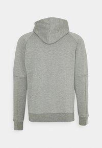 Puma - CLASSICS TECH HOODIE - Sweat à capuche zippé - medium gray heather - 1