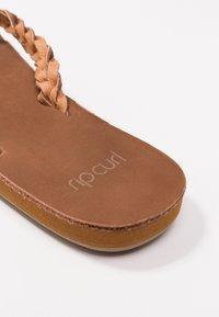 Rip Curl - RIVIERA MAYA - T-bar sandals - chestnut - 2