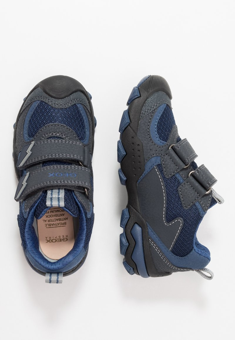 Geox - BULLER BOY - Zapatillas - navy/grey