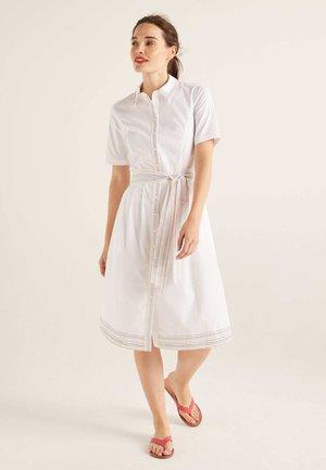 ANASTASIA  - Shirt dress - white