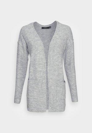 VMLUCI OPEN CARDIGAN  - Kardigan - light grey melange